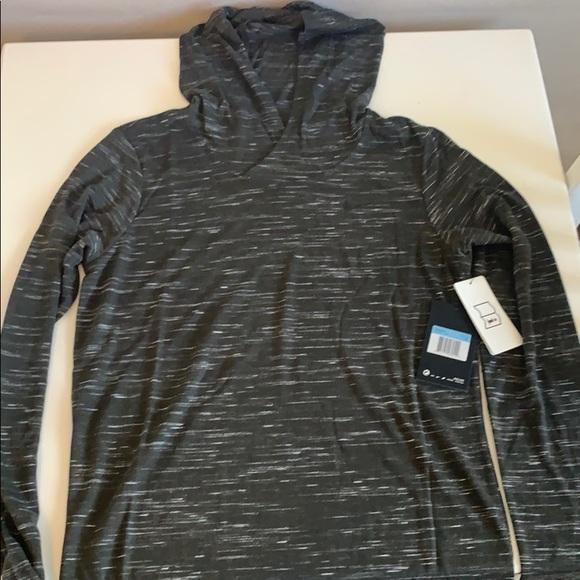 Nike Women's Veneer Long sleeve Top with Hood NWT